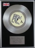"Depeche Mode - 7"" Platinum Disc - Shake the Disease"